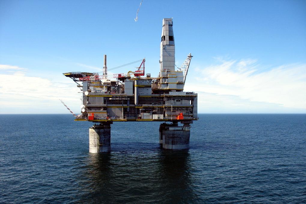 Фото морских стационарных платформ
