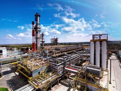 Разаработка СТУ для нефтеперерабатывающего завода